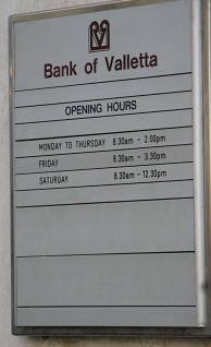 List of banks in Malta a useful help for contact numbers