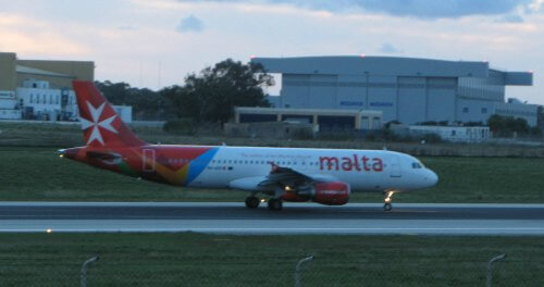 AirMalta and other airlines operate from Malta to other countries