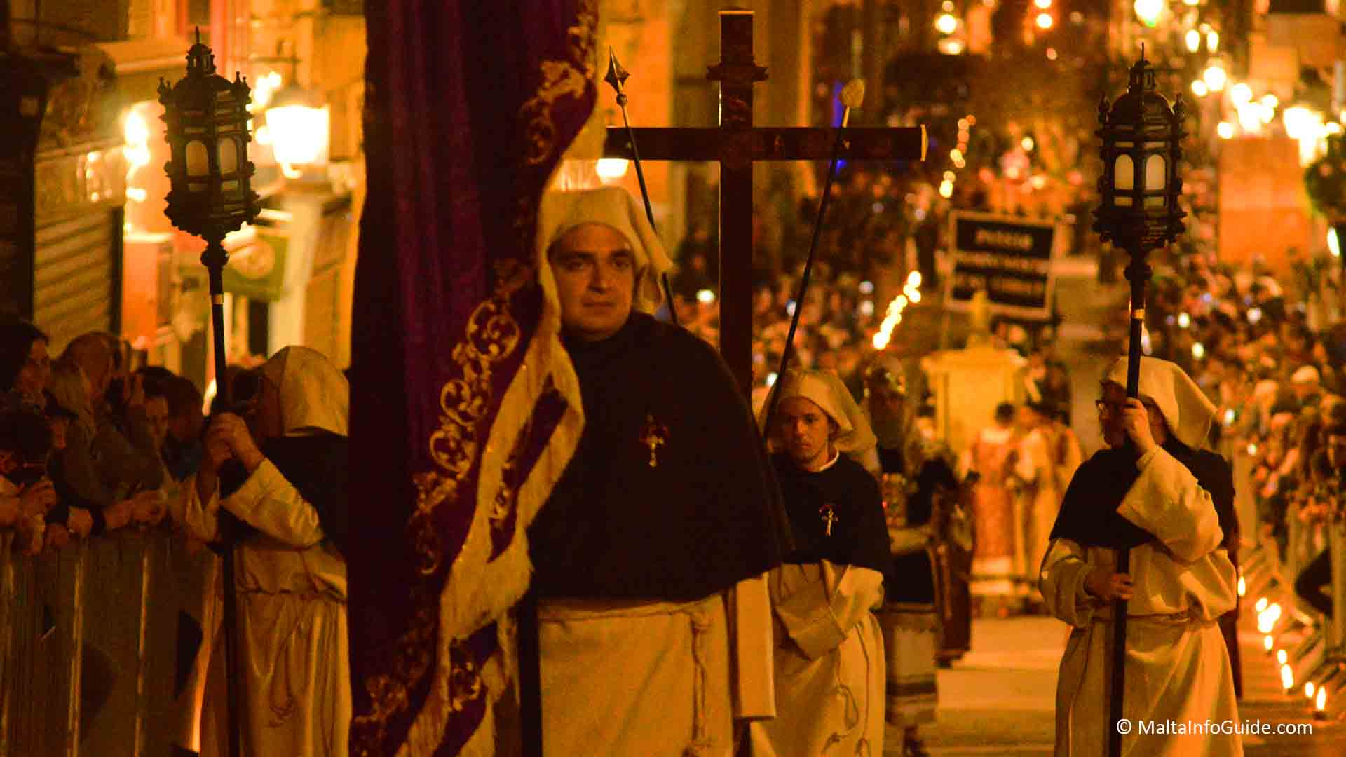 Good Friday procession in Valletta