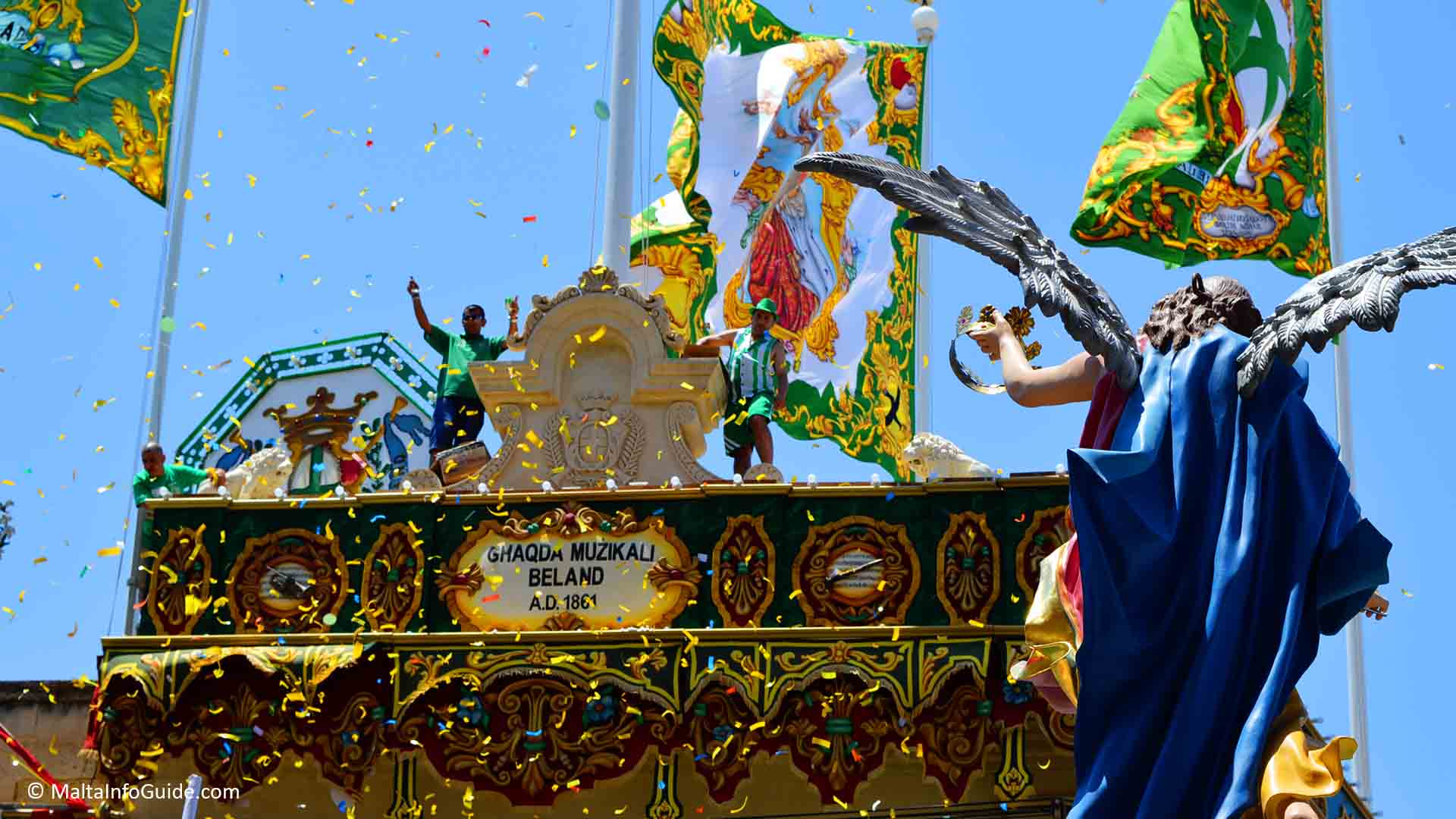 Malta Village Feasts 2019 a complete list of all parishes