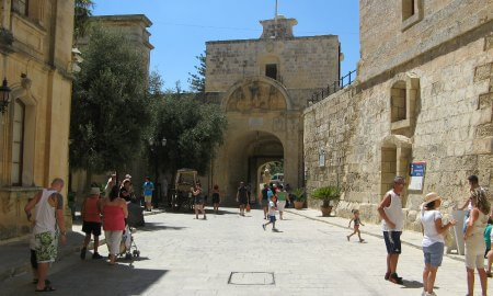 Main Gate of Mdina