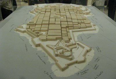 Model of the City of Valletta at The Fortress Builders – Fortification Interpretation Centre in Malta