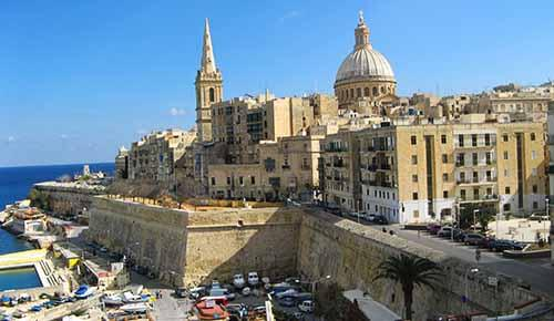 Valletta Fortifications and landscape